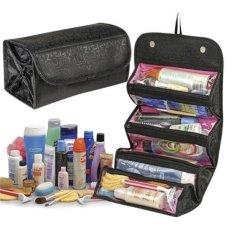 Túi đựng đồ du lịch tiện dụng, gọn nhẹ 4 ngăn chống thấm (Đen)
