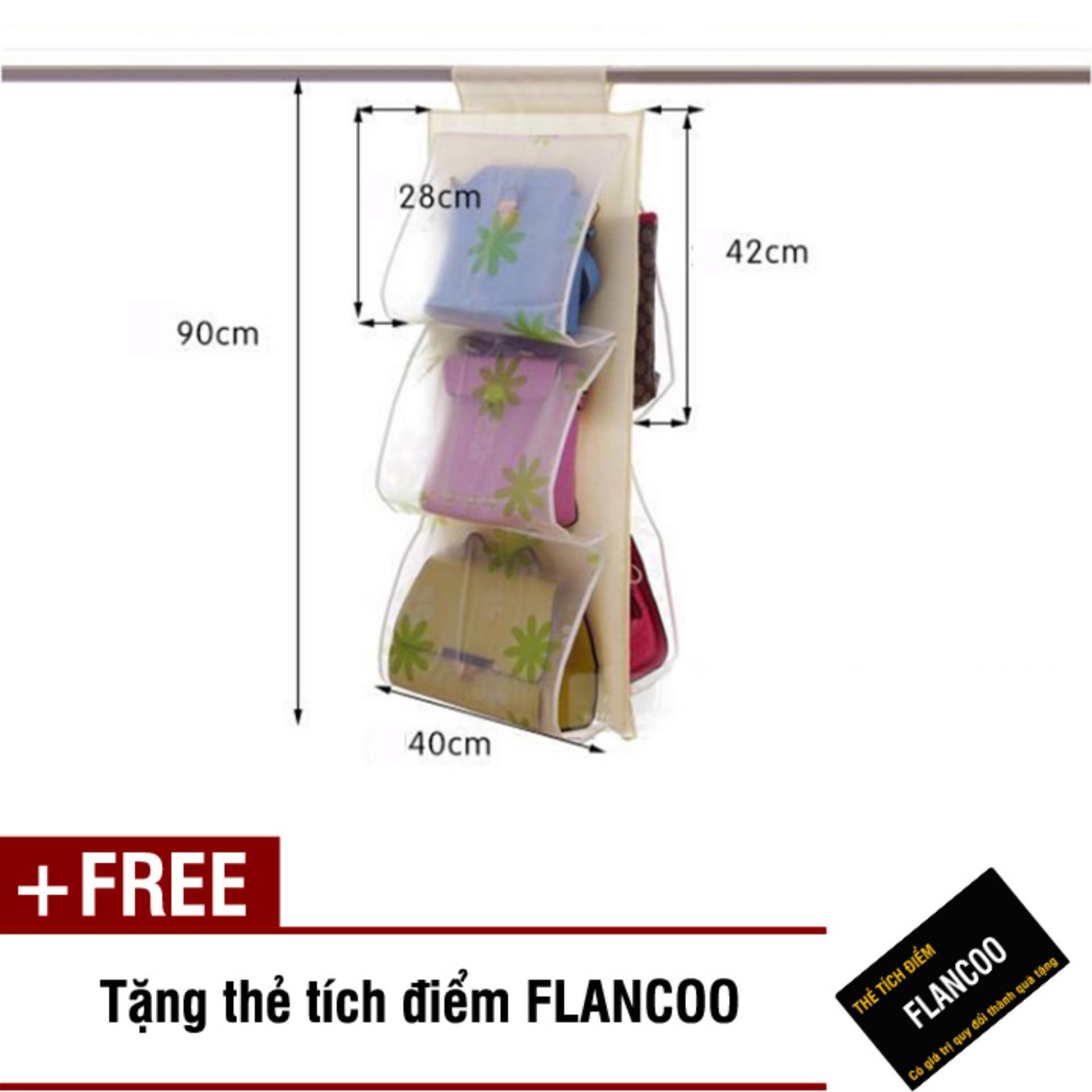 Túi Vải Treo 5 Ngăn Flancoo 2962