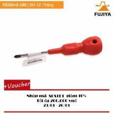 Tuốc nơ vít kỹ thuật điện Fujiya FESD+2-100