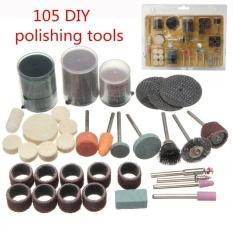 UINN 105 cái Dụng Cụ Xay Bit Bộ Điện DIY Đánh Bóng Cắt Sử Dụng nhiều màu-quốc tế