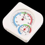 UINN Nursery Baby House Room Mini Thermometer Wet Hygrometer Temperature Meter - intl