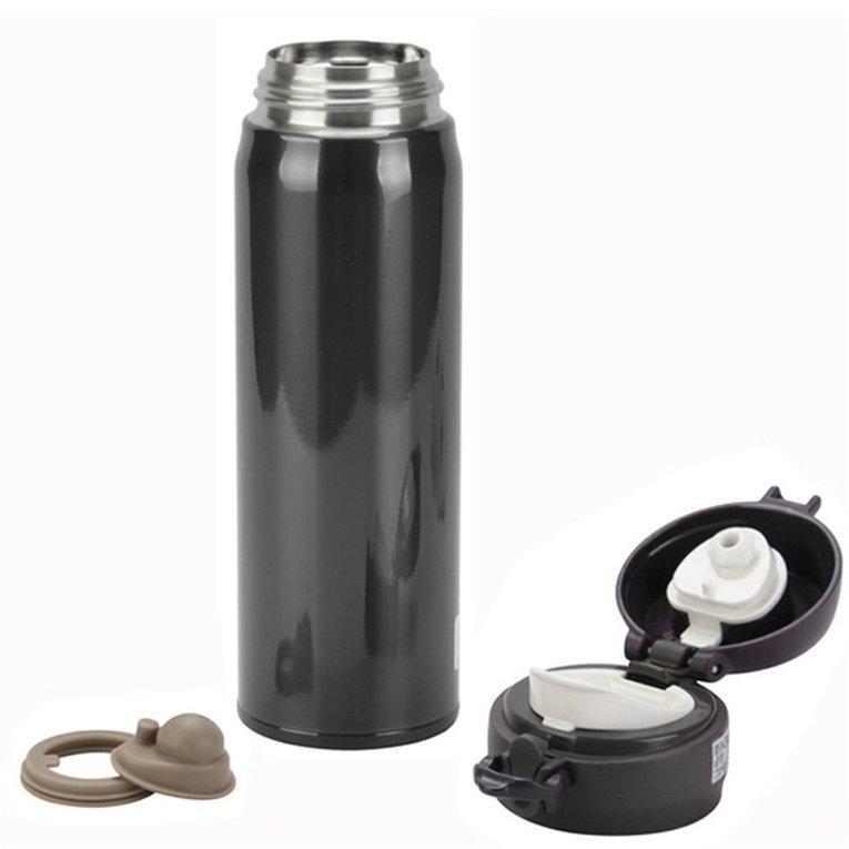 Khuyến mãi UINN Vacuum Cup Stainless Steel Water Bottle Insulation Cup Warming Keep Pot black - intl chỉ hôm nay - Giá chỉ 218.946đ