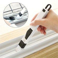 Hình ảnh Useful 2 In 1 Window Track Cleaning Brush Keyboard Nook Cranny Dust Shovel - intl