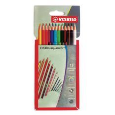 Mua Bút chì màu nước STABILO Aquacolor (vỉ giấy 12 màu)