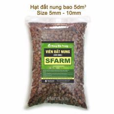 Hình ảnh Viên đất nung SFARM túi 5dm3 – KT 5-10mm - Hàng VN