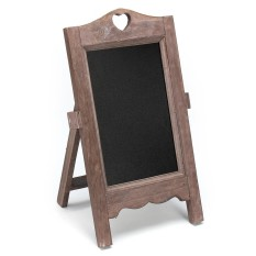Mua Vintage Chalk Board Blackboard Memo Message Notice Board Wedding Kitchen 24x35cm(Brown ) - intl