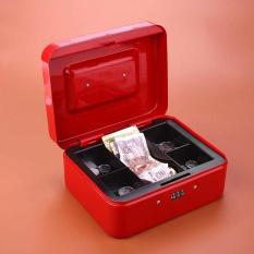 Vishine trung tâm-Di Động Tiền Tiền Mặt Bí Mật Bảo Mật An Toàn Hộp Mật Khẩu Khóa Kim Loại Kích Thước Trung Bình-quốc tế