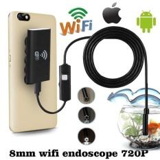 Vishine trung tâm-Wifi dành cho IOS Android Camera Nội Soi HD 720 p 2.0MP 8 mét 1 m 6LED Ống Máy Camera Chống Thấm Nước -quốc tế