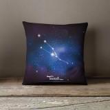 Vỏ gối trang trí, tựa lưng Sofa Tmark 13 Họa tiết cách điệu 12 chòm sao (Taurus)