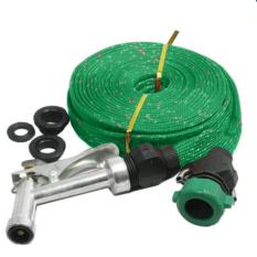 Vòi phun xịt nước rửa xe tưới cây dây 10m 206166 (Xanh)