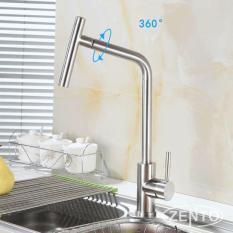 Hình ảnh Vòi rửa bát Nóng Lạnh ( Xoay 360 ) Inox 304 Cao Cấp