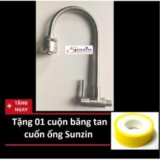 Ôn Tập Cửa Hàng Voi Rửa Chen Gắn Tường Cần Mềm Chất Liệu Inox 304 Tặng 01 Cuộn Băng Tan Trực Tuyến
