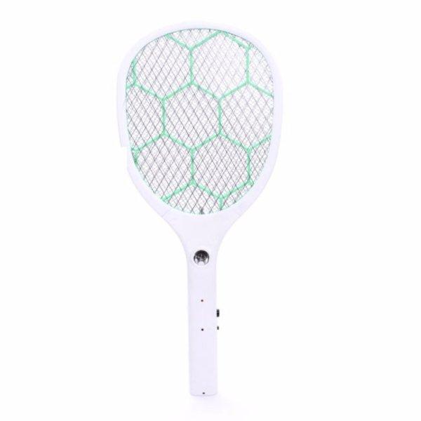 Vợt Diệt Muỗi Eco Nakagami 48 X 205 X 02Cm (White) thiết kế thân to, chắc chắn, rất nhẹ vừa tầm tay nắm