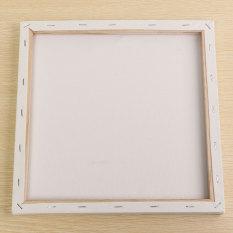 Mua Trắng Trống Vuông Vải Canvas Ban Khung Gỗ Nghệ Thuật Nghệ Sĩ Dầu Acrylic Sơn 30x30 cm-quốc tế