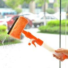 Cửa sổ Kính Khăn Lau Gạt Bàn Chải Làm Sạch Dụng Cụ có Vải Lót Cam-quốc tế