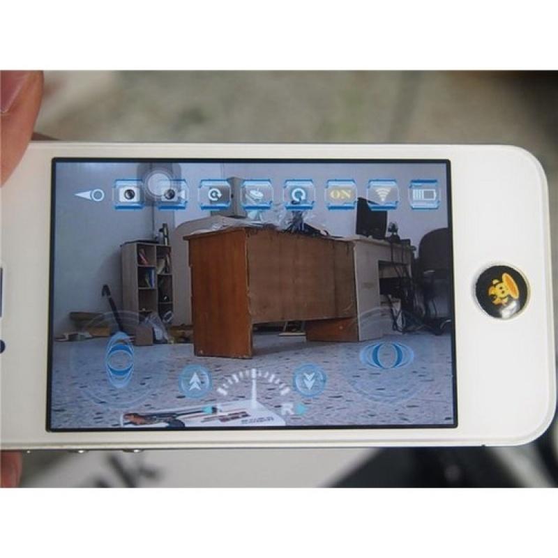 Xe gián điệp có camera điều khiển từ xa bằng Wifi