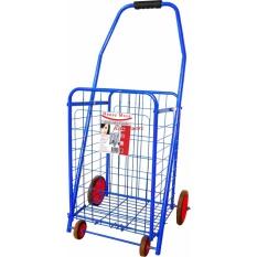 Xe kéo đi chợ gấp gọn Happy Move 20kg (Xanh - Blue)