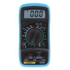 XL830L Digital LCD AC/DC/OHM Tester Current Multimeter Voltmeter Ammeter - intl