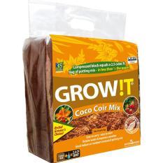 Xơ dừa bột Coco Coir Mix Trồng Phong Lan - Xuất khẩu Mỹ, Canada (2018)
