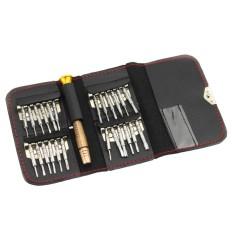 Hình ảnh XW-6025 25 In 1 Screwdriver Set With Bag(Black) - intl