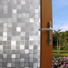 Hình ảnh Yika Waterproof Bedroom Bathroom Glass Window Door Film Sticker PVC Frosted 45x100cm - intl