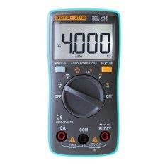 ZOTEK ZT100 Portable Autoranging Digital Multimeter 4000 Counts Backlight AC/DC Ammeter Voltmeter Ohm Portable Meter - intl