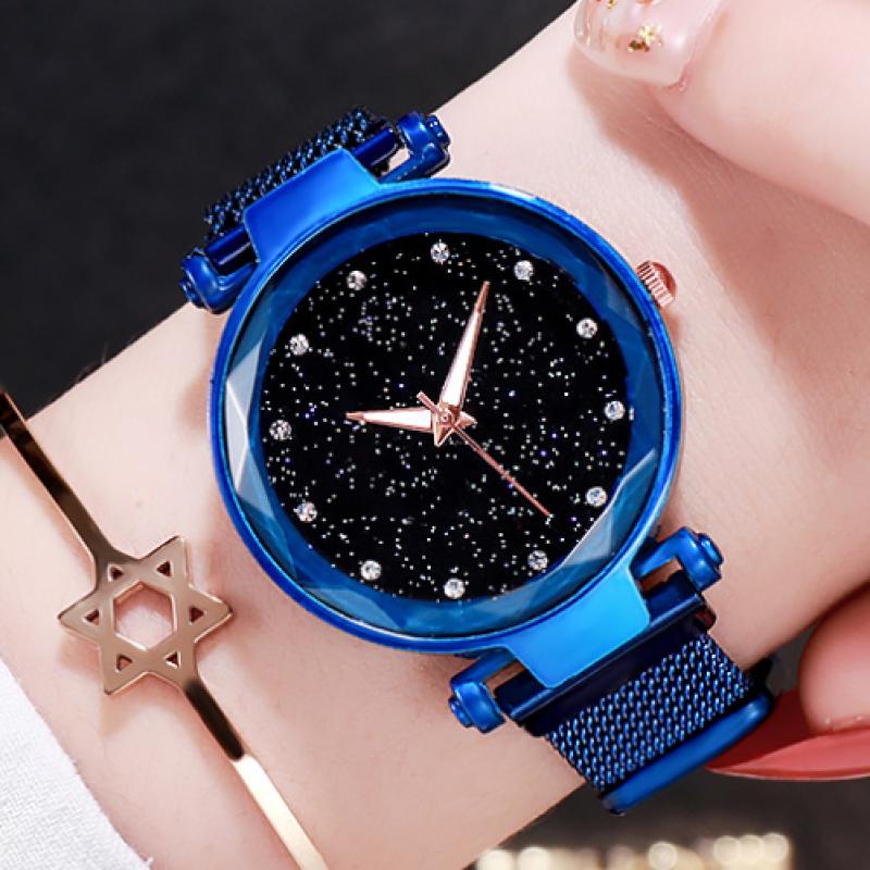 GEDI 3686 Đồng hồ thời trang Hàn Quốc nổ kim cương không thấm nước cô gái đồng hồ thời trang thạch anh giản dị, giao hàng nhanh