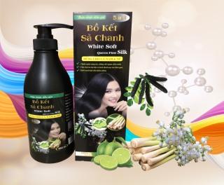 [K] DẦU GỘI BỒ KẾT SẢ CHANH WHITE SOFT 850ML 5IN1 - dầu gội thảo mộc - chăm sóc tóc - dầu gội cao cấp - đồ dùng phòng tắm thumbnail