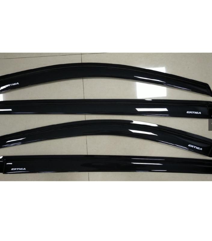 Bộ vè che mưa ABS đen dành cho xe Suzuki Ertiga 2019-2021( hàng cao cấp)