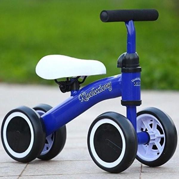 Xe thăng bằng 4 bánh chòi chân nhiều màu cho bé