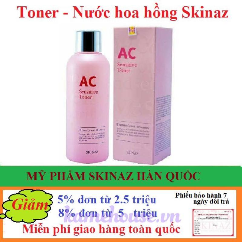 Toner AC Sensitive Toner Skinaz Hàn Quốc- 180ml cao cấp