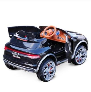 Ô tô xe điện đồ chơi vận động ngoài trời cho bé AUDI JM-2088 4 động cơ lơn có điểu khiển từ xa (Đỏ-Trắng-Đen) thumbnail