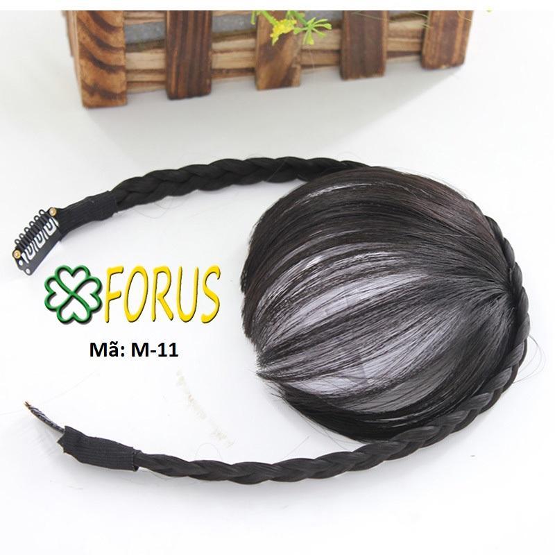 Tóc mái băng đô dây kẹp M11, màu [đen 2#]