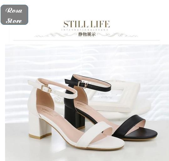 Giày Sandal Quai Ngang 5p Rosa Đang Ưu Đãi Giá