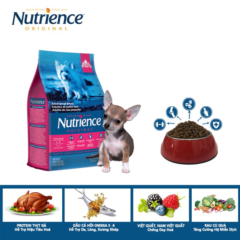 Thức Ăn Cho Chó Nhỏ Trưởng Thành Nutrience Original - Thịt Gà, Rau Củ Và Trái Cây Tự Nhiên