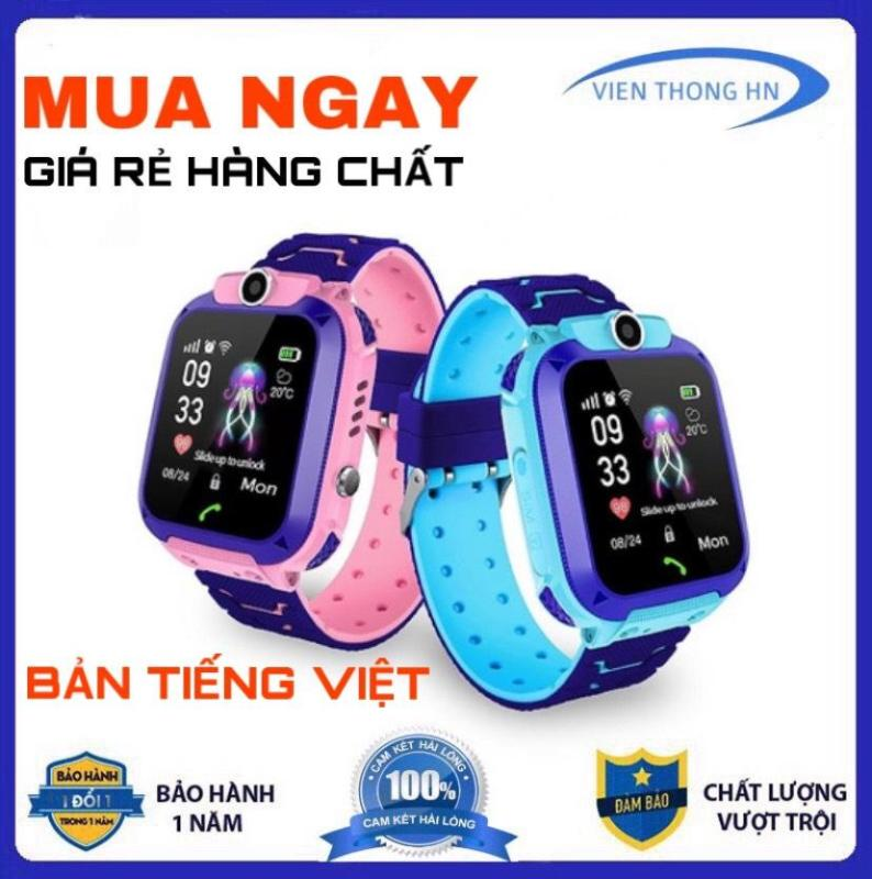 Nơi bán Đồng hồ thông minh định vị GPS Q12 chống nước cảm ứng lắp sim nghe gọi điện thoại cho trẻ em có ngôn ngữ tiếng việt a28