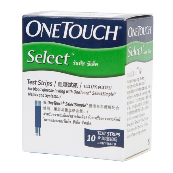 Que thử đường huyết Onetouch Select Simple (lọ 10 que) bán chạy