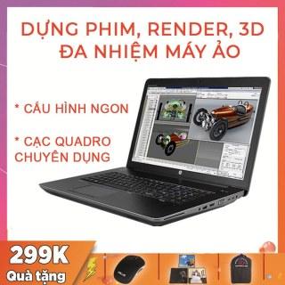 HP Zbook 17 G2 Chuyên Dựng Phim, Render Video, Đa Nhiệm Máy Ảo, i7-4810MQ, VGA Quadro K4100M-4G, Màn 17.3 Full HD, Laptop Giá Rẻ thumbnail