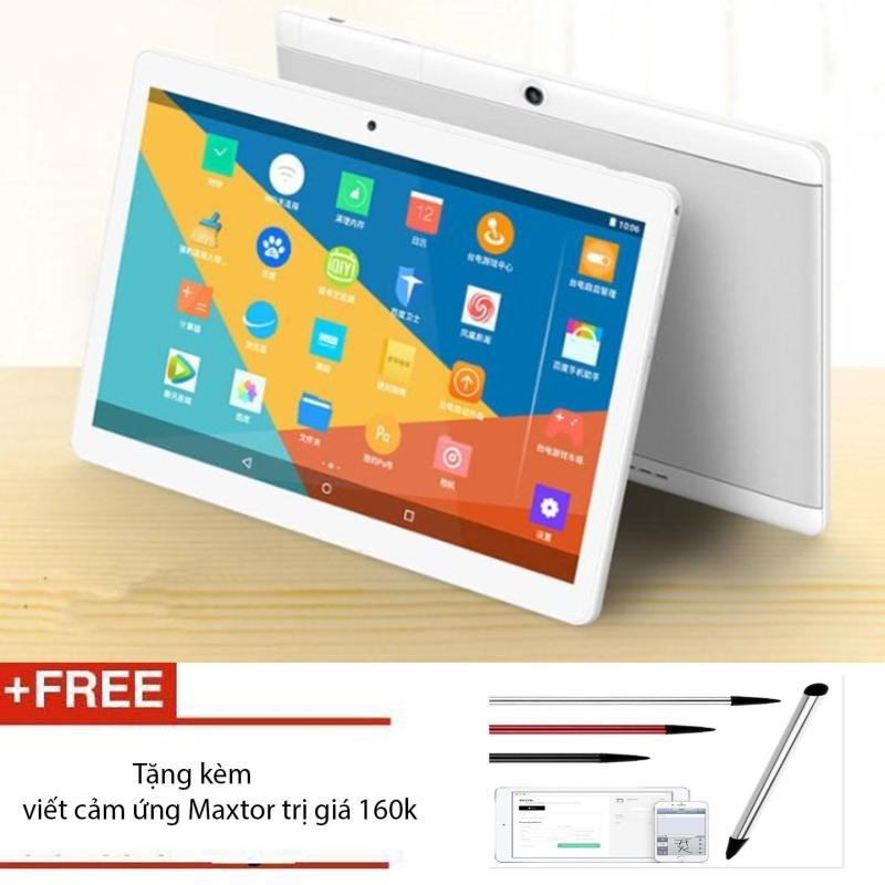 Máy tính bảng Tablet 10.6inch MTK6753 Ram 6G 128gb Dualsim 4G + tặng kèm bút cảm ứng