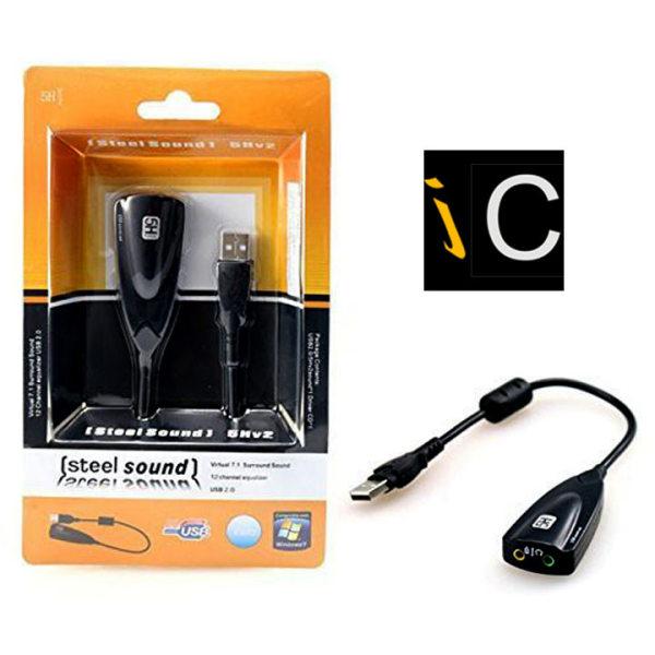 Bảng giá Card âm thanh - usb sound card - usb sound âm thanh cực hay Phong Vũ