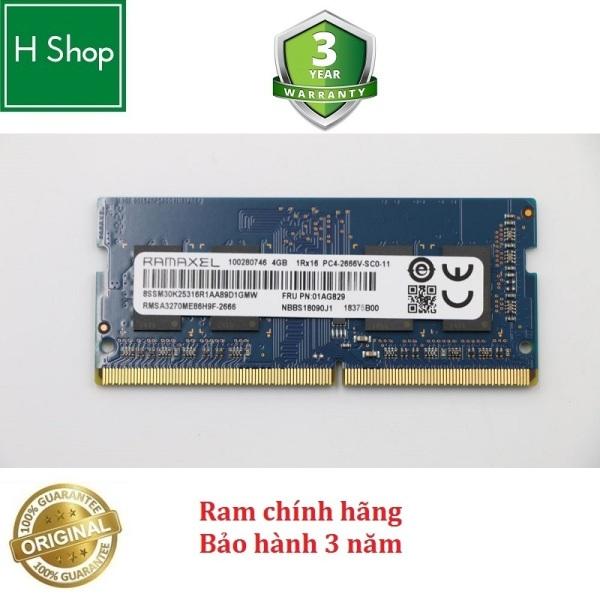 Bảng giá Ram Laptop DDR4 8GB Bus 2666, tháo máy, Bảo Hành 3 Năm Phong Vũ
