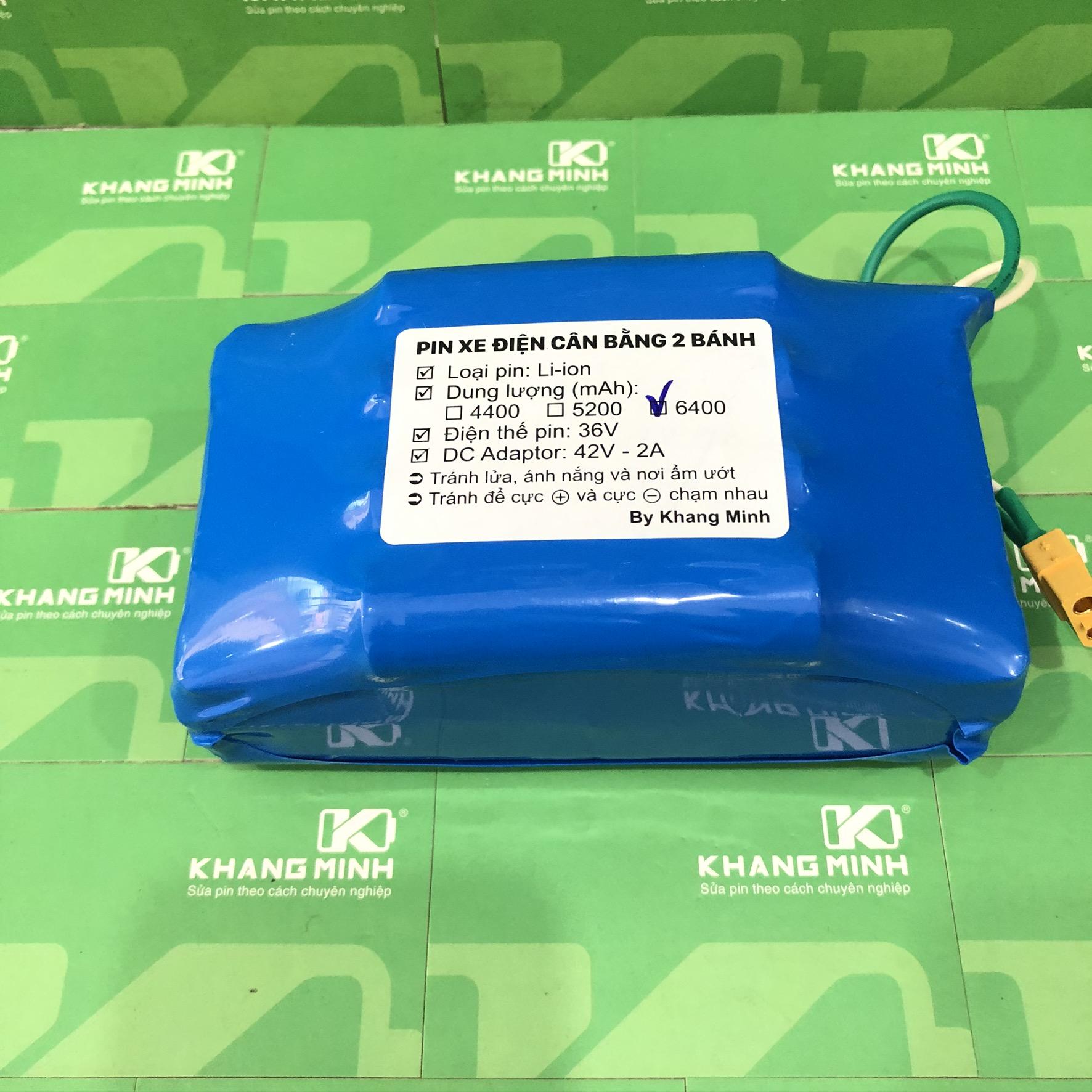 Mua Pin xe điện cân bằng 2 bánh 36V 7.0Ah, dung lượng cao và dòng tải lớn