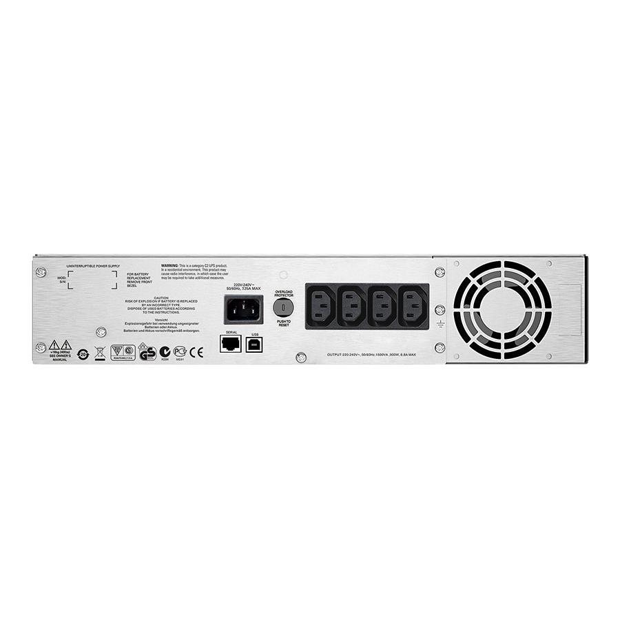 Bảng giá Bộ lưu điện APC: Smart-UPS C 1500VA LCD RM 2U 230V-SMC1500I-2U - Hàng Chính Hãng Phong Vũ