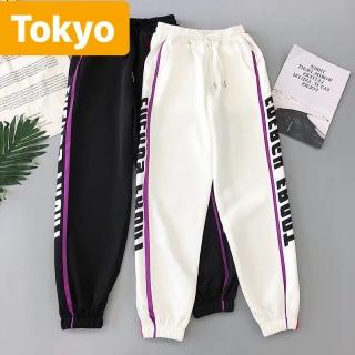 QUẦN JOGGER THỂ THAO NAM NỮ VIỀN CHỮ ĐÙI THOÁNG MÁT TAKAMASE CAO CẤP - TOKYO FASHION thumbnail