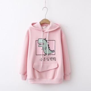 Áo Khoác Nỉ Hoodie Khủng Long Cute (nhiều màu) mẫu hoodie mới nhất thumbnail
