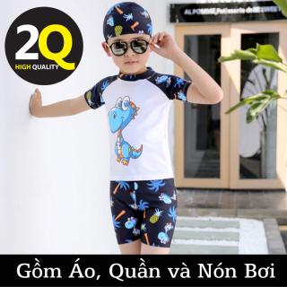 Set đồ bơi bé trai Áo, Quần, Nón thumbnail