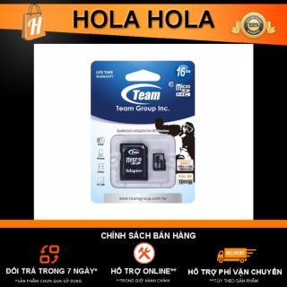 [HCM]Thẻ nhớ MicroSD Team Class 10 16Gb tặng kèm Adapter thumbnail