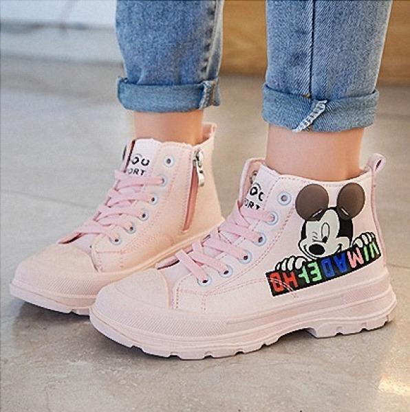 Giày bé gái phong cách Hàn Quốc Ta30