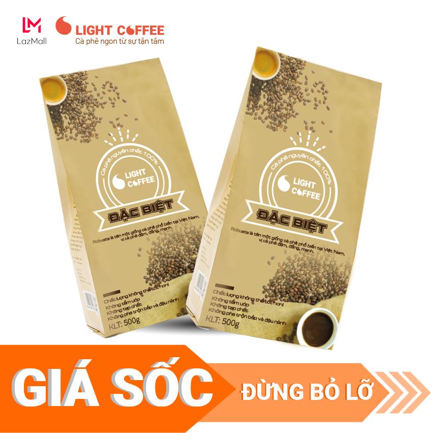 Giá Quá Tốt Để Có 1KG Cà Phê Bột Light Coffee Đặc Biệt , đậm , đắng , Mạnh, Cà Phê Nguyên Chất Không Tẩm ướp, Không Pha Trộn Tạp Chất , Giá Rẻ