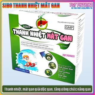 Siro Thanh Nhiệt Mát Gan Actiso cho bé, giảm mẩn ngứa, rôm sảy, dị ứng - Hộp 20 ống sử dụng cho bé từ 2 tuổi thumbnail